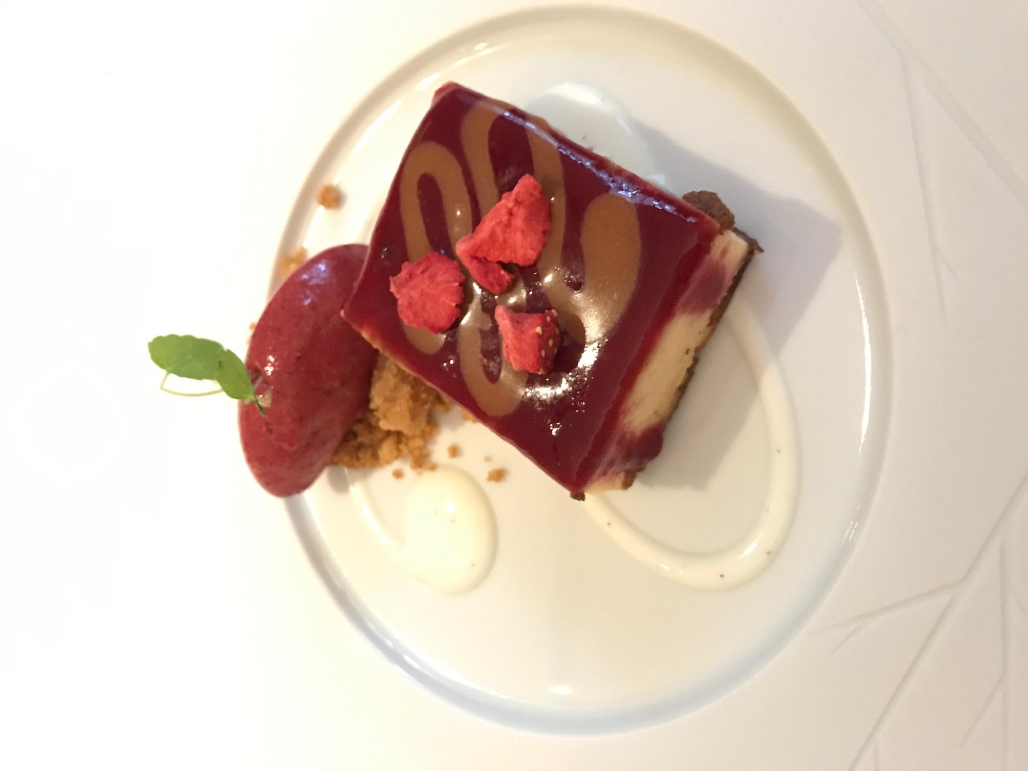 Restaurant Xerta Pastel Queso