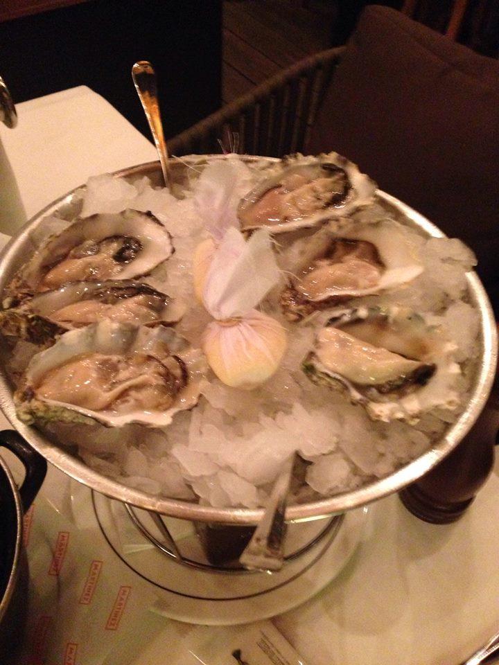 martinez ostras